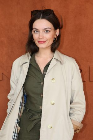 Emma Mackey at French Tennis Open at Roland Garros in Paris, France 2019/06/08 2