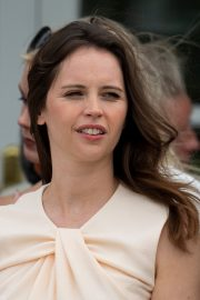 Felicity Jones attends The Royal Windsor Cup Final at Guards Polo Club in England 2019/06/23 1
