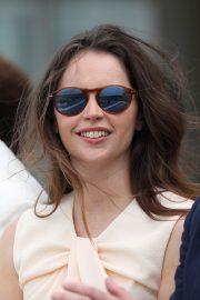 Felicity Jones attends The Royal Windsor Cup Final at Guards Polo Club in England 2019/06/23 3