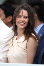 Felicity Jones attends The Royal Windsor Cup Final at Guards Polo Club in England 2019/06/23 4