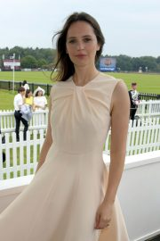 Felicity Jones attends The Royal Windsor Cup Final at Guards Polo Club in England 2019/06/23 5