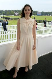 Felicity Jones attends The Royal Windsor Cup Final at Guards Polo Club in England 2019/06/23 6