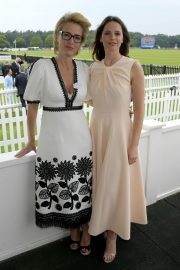 Felicity Jones attends The Royal Windsor Cup Final at Guards Polo Club in England 2019/06/23 8