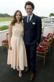 Felicity Jones attends The Royal Windsor Cup Final at Guards Polo Club in England 2019/06/23 10