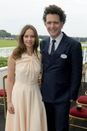 Felicity Jones attends The Royal Windsor Cup Final at Guards Polo Club in England 2019/06/23 11