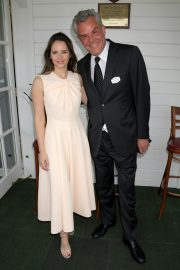 Felicity Jones attends The Royal Windsor Cup Final at Guards Polo Club in England 2019/06/23 15