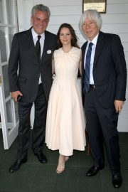 Felicity Jones attends The Royal Windsor Cup Final at Guards Polo Club in England 2019/06/23 16