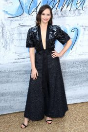 Felicity Jones attends The Summer Party 2019 at The Serpentine Gallery 2019/06/25 8