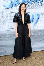 Felicity Jones attends The Summer Party 2019 at The Serpentine Gallery 2019/06/25 12