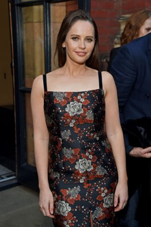 Felicity Jones attends The V&A Summer Party 2019 in London 2019/06/19 1