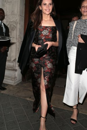 Felicity Jones leaves The Victoria and Albert Museum Summer Party in London 2019/06/19 2