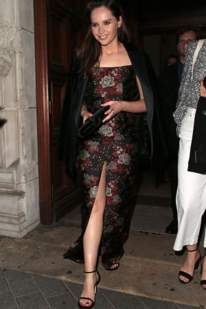 Felicity Jones leaves The Victoria and Albert Museum Summer Party in London 2019/06/19 3