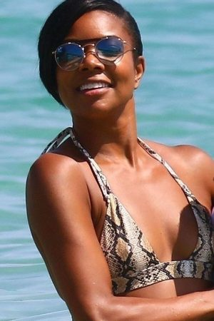 Gabrielle Union in Bikini at Beach in Cannes 2019/06/21 7