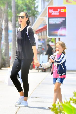 Gal Gadot with her daughter Shopping Out in Studio City 2019/06/22 2