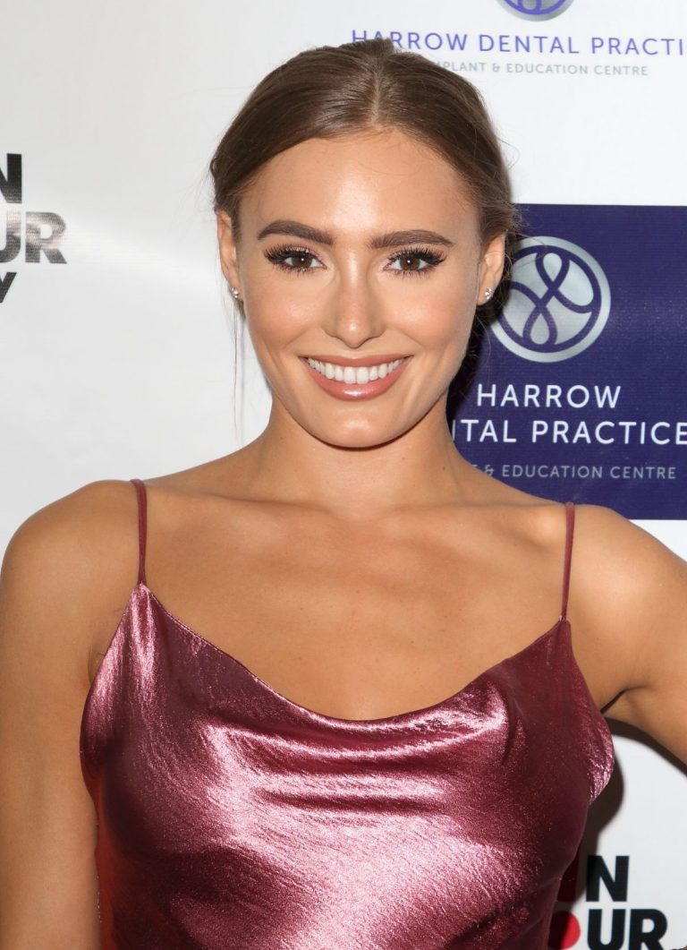 Georgie Clarke attends Harrow Dental Practice x Brain Tumour Charity Gala Dinner in London 2019/06/22 2