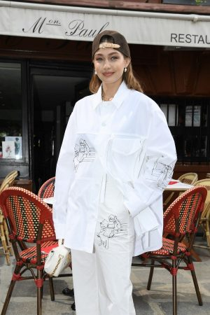 Gigi Hadid at the Louis Vuitton Menswear Spring Summer 2020 in Paris 2019/06/20 1