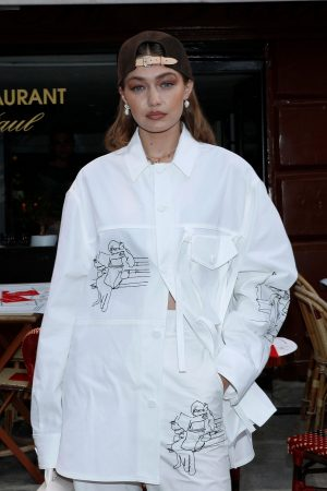 Gigi Hadid at the Louis Vuitton Menswear Spring Summer 2020 in Paris 2019/06/20 3