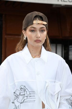 Gigi Hadid at the Louis Vuitton Menswear Spring Summer 2020 in Paris 2019/06/20 5