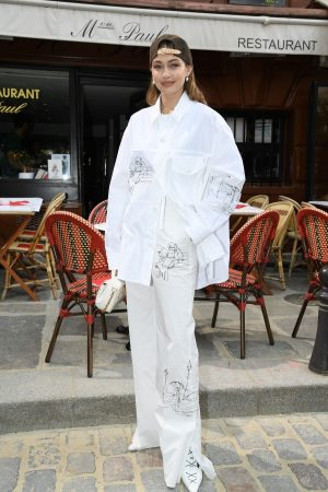 Gigi Hadid at the Louis Vuitton Menswear Spring Summer 2020 in Paris 2019/06/20 7