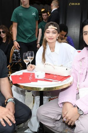 Gigi Hadid at the Louis Vuitton Menswear Spring Summer 2020 in Paris 2019/06/20 11