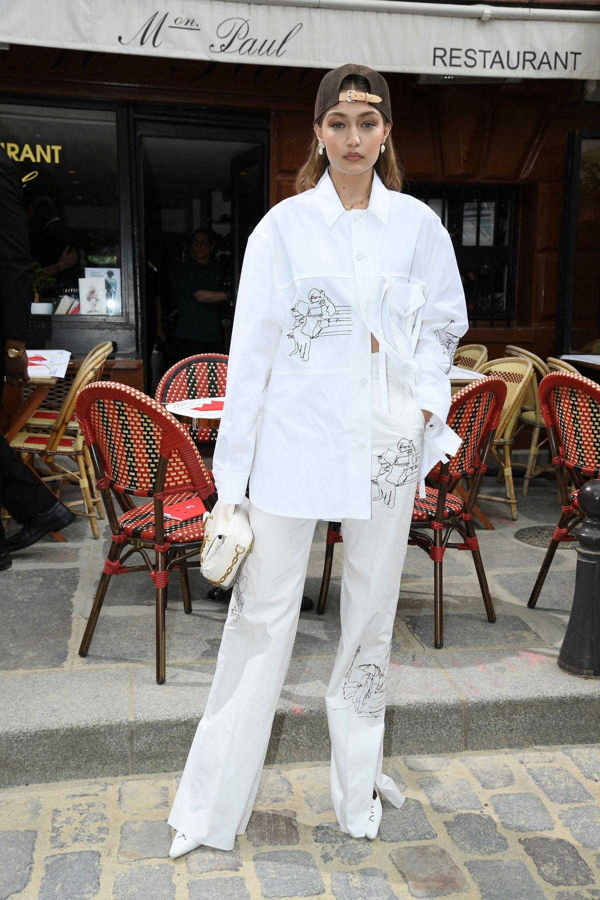 Gigi Hadid at the Louis Vuitton Menswear Spring Summer 2020 in Paris 2019/06/20 13
