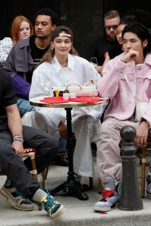 Gigi Hadid at the Louis Vuitton Menswear Spring Summer 2020 in Paris 2019/06/20 14