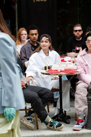 Gigi Hadid at the Louis Vuitton Menswear Spring Summer 2020 in Paris 2019/06/20 19