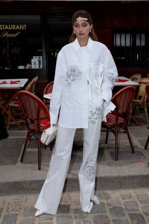 Gigi Hadid at the Louis Vuitton Menswear Spring Summer 2020 in Paris 2019/06/20 20