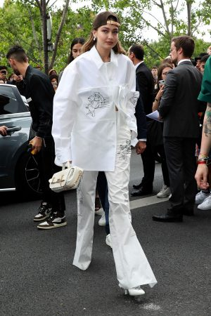 Gigi Hadid attends Louis Vuitton Menswear Spring Summer 2020 in Paris 2019/06/20 2