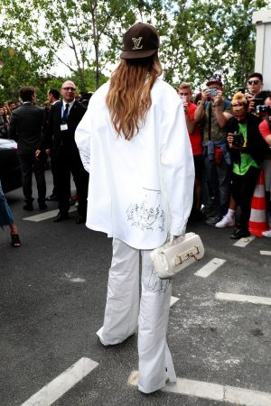 Gigi Hadid attends Louis Vuitton Menswear Spring Summer 2020 in Paris 2019/06/20 3