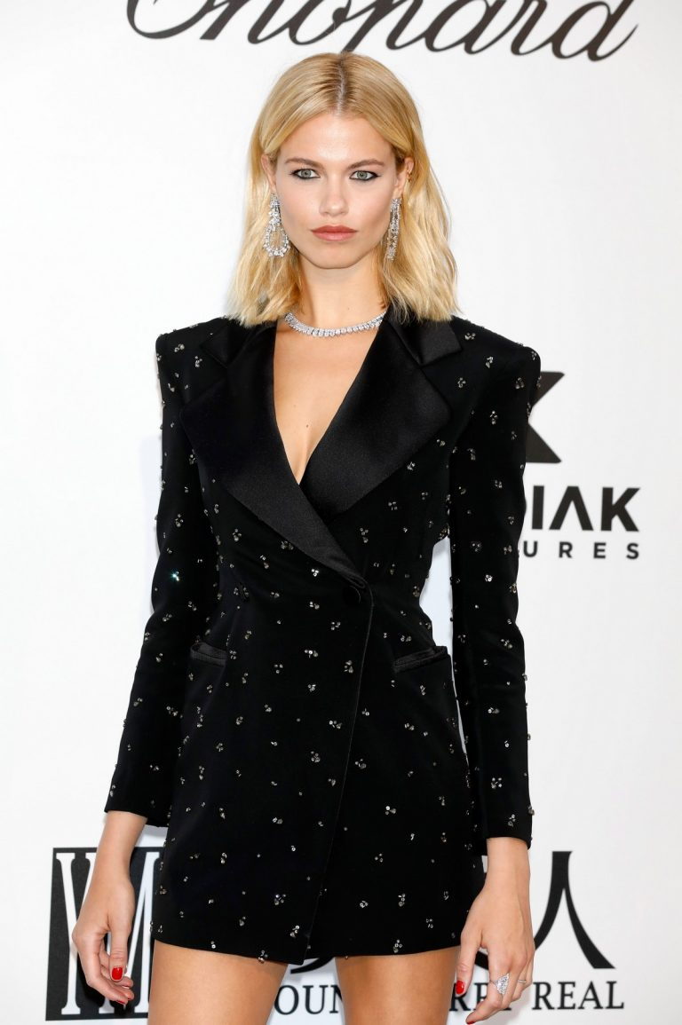 Hailey Clauson attends amfAR's 26th Cinema Against AIDS Gala in Cannes 2019/05/23 21
