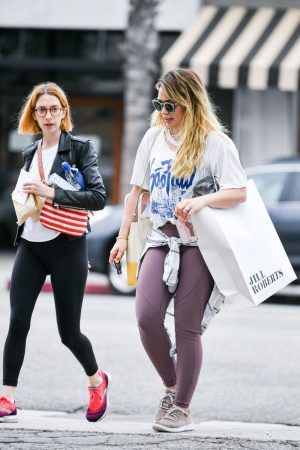 Hilary Duff with her friend Out for Shopping in Studio City 2019/06/18 3