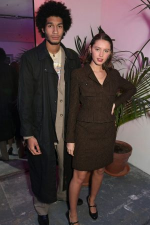 Iris Law attends The LOVE x The Store X party celebrating LOVE issue #21 2019/02/18 2
