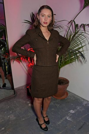 Iris Law attends The LOVE x The Store X party celebrating LOVE issue #21 2019/02/18 3