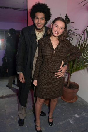 Iris Law attends The LOVE x The Store X party celebrating LOVE issue #21 2019/02/18 4