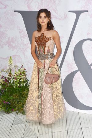 Jenna Coleman attends 2019 V&A Summer Party in London 2019/06/19 2