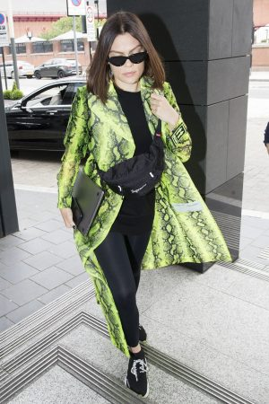 Jessie J in Black Tights Out in London 2019/06/18 3