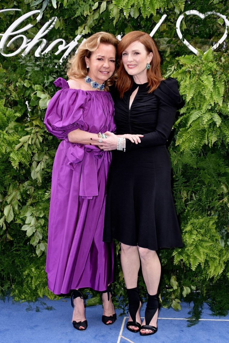 Julianne Moore and Caroline Scheufele attends The Chopard Bond Street Boutique Reopening 2019/06/17 1