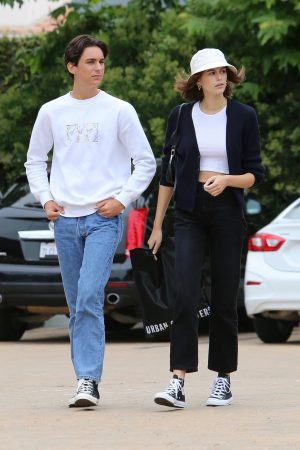 Kaia Gerber with Friends Out and about in Malibu 2019/06/17 10