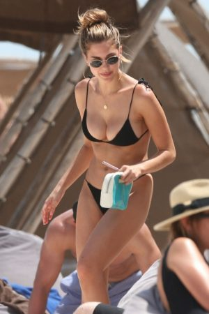 Kara Del Toro in Bikini Candids at a Beach in Tulum 2019/06/20 7