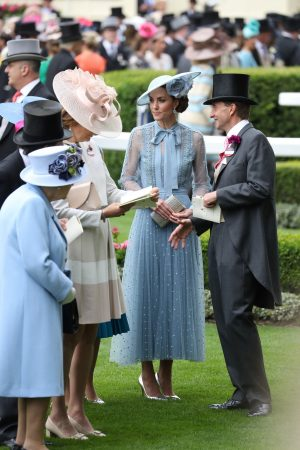 Kate Middleton attends Day one of Royal Ascot in Ascot, England 2019/06/18 3