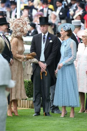Kate Middleton attends Day one of Royal Ascot in Ascot, England 2019/06/18 10