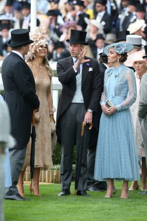 Kate Middleton attends Day one of Royal Ascot in Ascot, England 2019/06/18 11