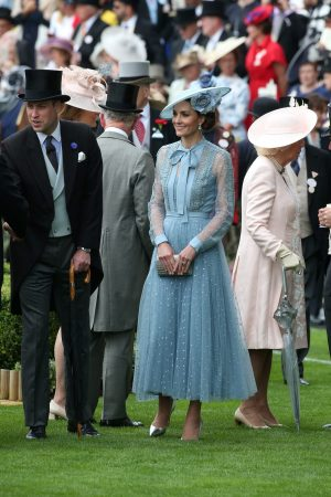 Kate Middleton attends Day one of Royal Ascot in Ascot, England 2019/06/18 18