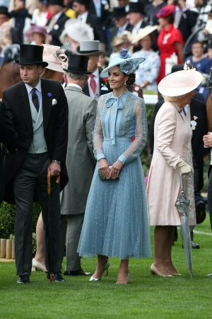 Kate Middleton attends Day one of Royal Ascot in Ascot, England 2019/06/18 20