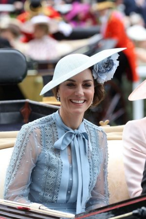Kate Middleton attends Day one of Royal Ascot in Ascot, England 2019/06/18 21