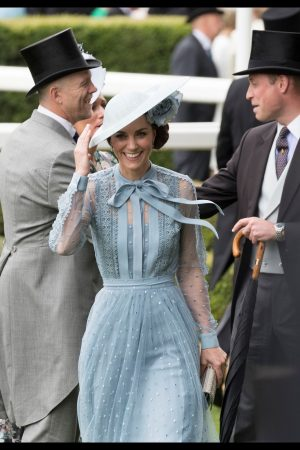 Kate Middleton attends Day one of Royal Ascot in Ascot, England 2019/06/18 23
