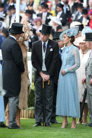 Kate Middleton attends Day one of Royal Ascot in Ascot, England 2019/06/18 30