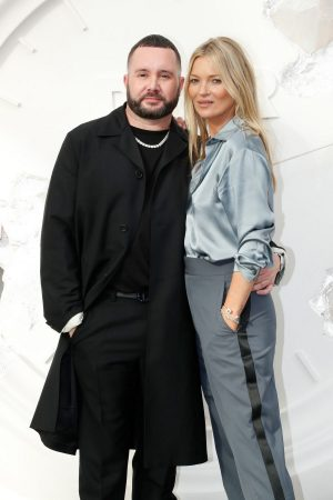 Kate Moss and Kim Jones attends Dior Homme Menswear Spring Summer 2020 Show in Paris 2019/06/21 1