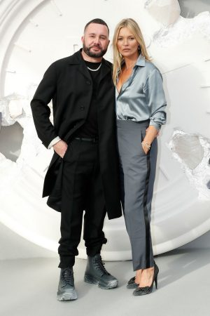 Kate Moss and Kim Jones attends Dior Homme Menswear Spring Summer 2020 Show in Paris 2019/06/21 2
